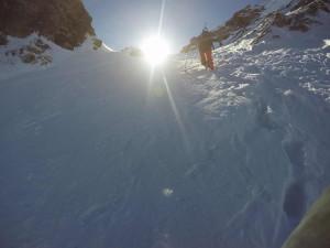 Ski alpinisme au Grand Replomb